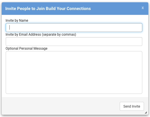 Control the details of your group including members and content